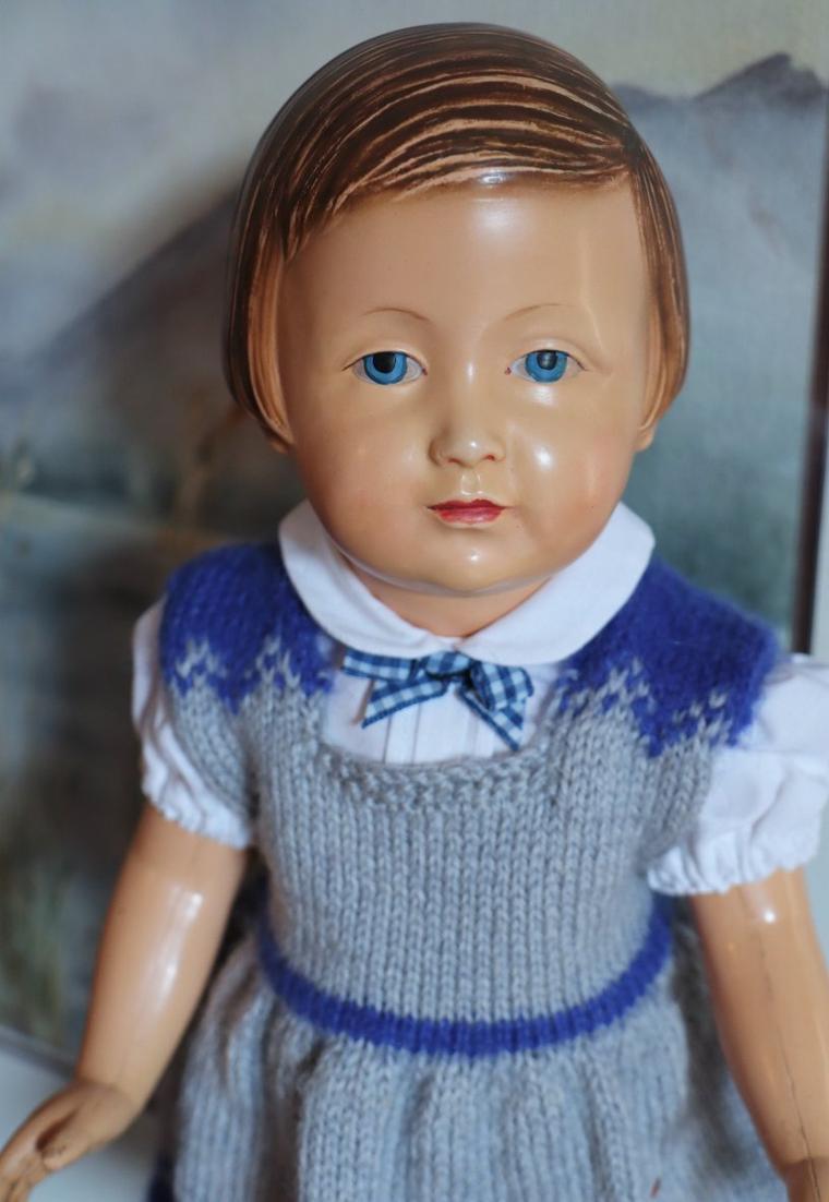 Françoise a choisi bleu comme ses yeux