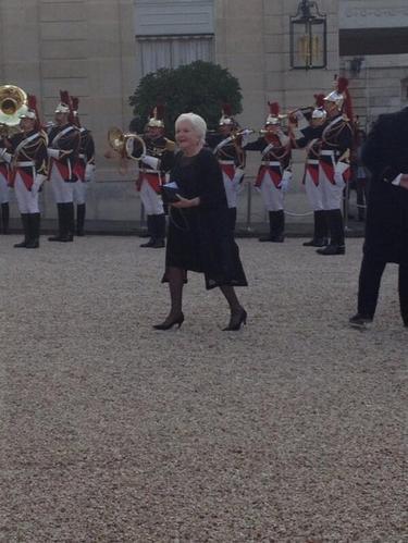 Line Renaud - 70ème anniversaire du DDay, Dîner d'Etat à l'Elysée (MAJ)