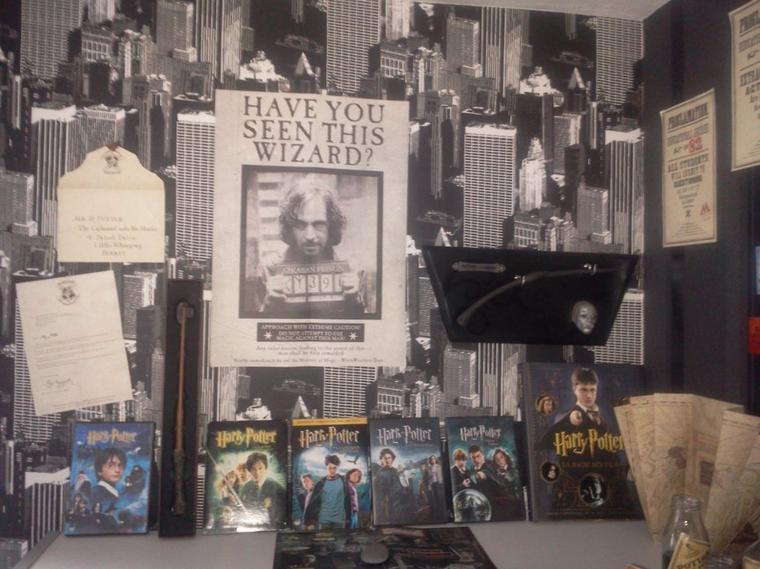 Chambre Deco Harry Potter : Ma chambre harry potter de hpsevrus