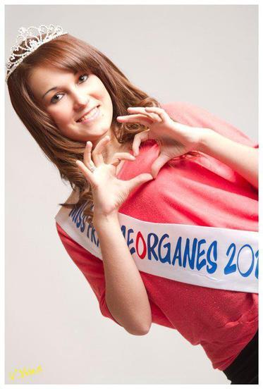Notre Miss FranceOrganes 2012 devenue ... Miss internet Aquitaine 2012 !