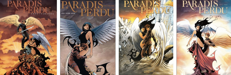 Paradis Perdu - L'Intégrale, Ange, Varanda, Philippe Xavier, Lyse & Alexe