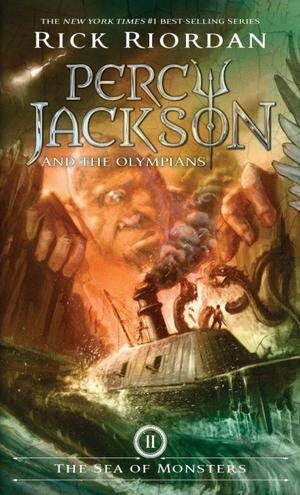 Percy Jackson and the Olympians - Tome 2 : The Sea of Monsters, Rick Riordan