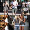 .   01.07.10 : __________ Miley, toute bronzée, & son chéri Liam sont allés à Robeks.   02.07.10 : ____'_____ Miley & Melissa Ordway se rendant chez Robeks, encore !   .