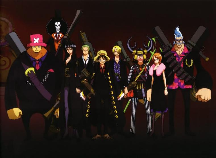 one piece équipage classe