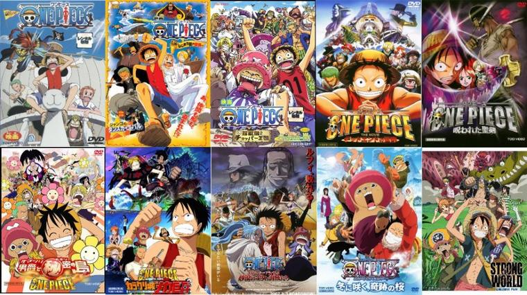 One Piece ~ Les Films