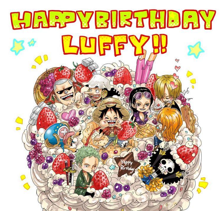 Birthday Calendar One Piece : Happy birthday one piece