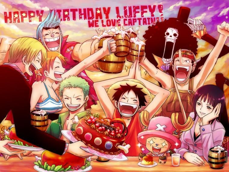 Happy birthday One Piece <3