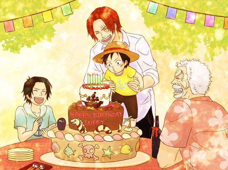 Happy birthday One Piece <3