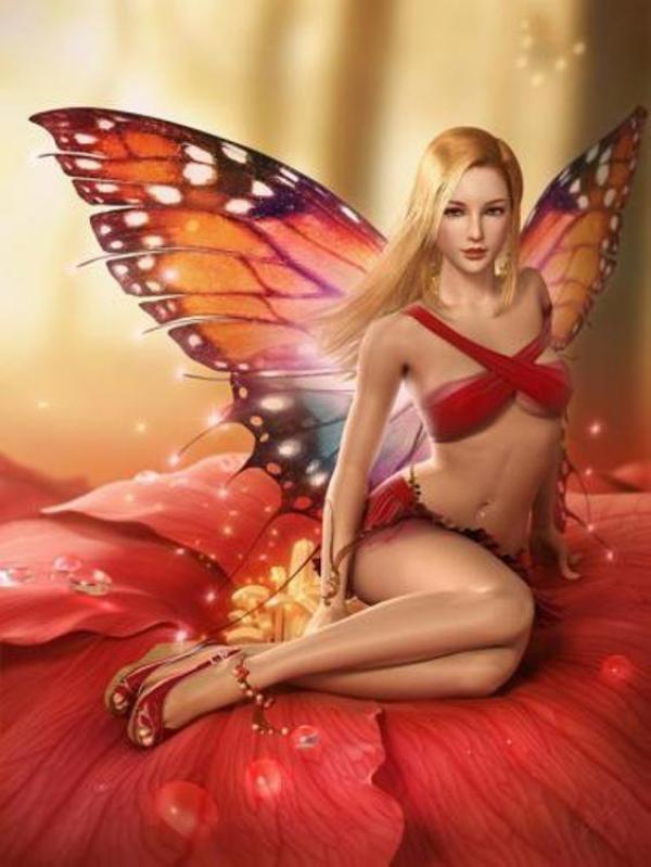 Femme-Papillon....