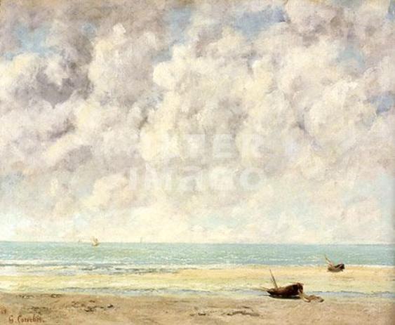La Mer...Par Gustave Courbet !