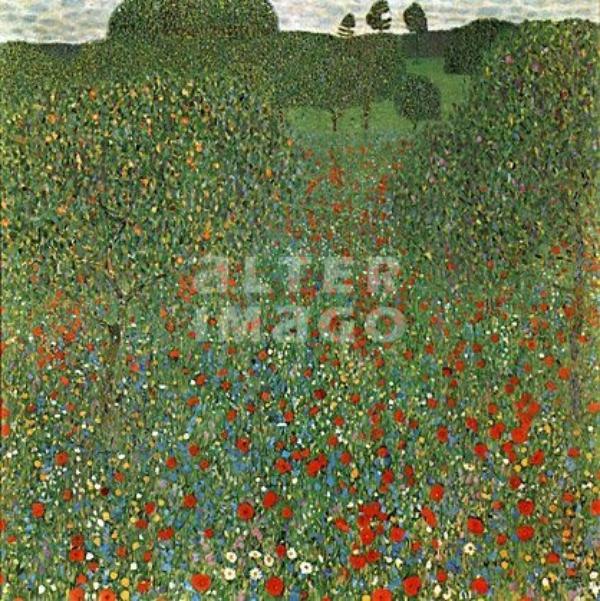J'ai l'Impression d'être Submergée Par Les Fleurs Peintes par Klimt !
