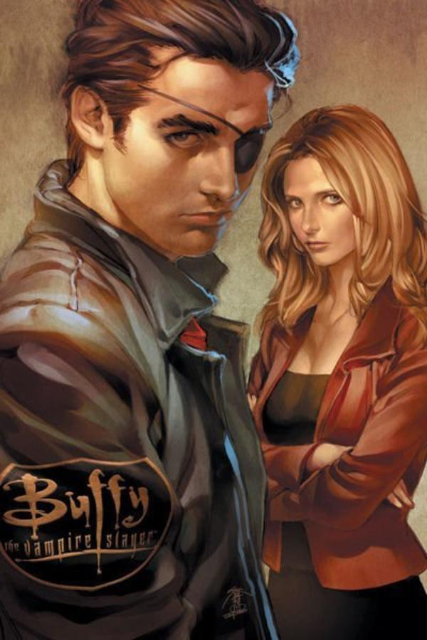 Xander et Buffy