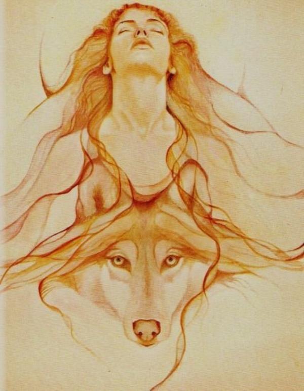 Dédicace à Ma Belle Vipère, Qui Aime Tant les Loups !!