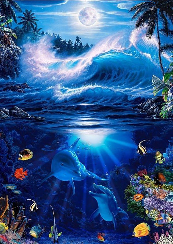Une Magnifique Peinture de Christian Riese Lassen !!!!!