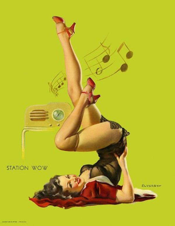 La Pin-Up Fond pour la Musique !!