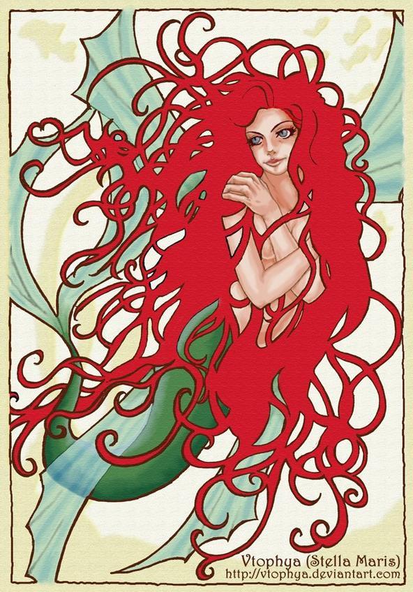 J'Adore les Cheveux de la Sirène !!