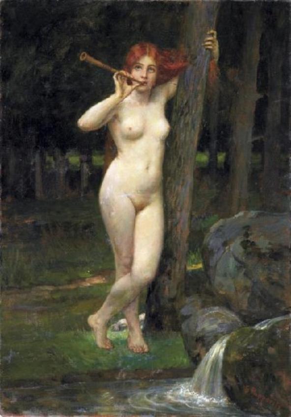 Une Nymphe