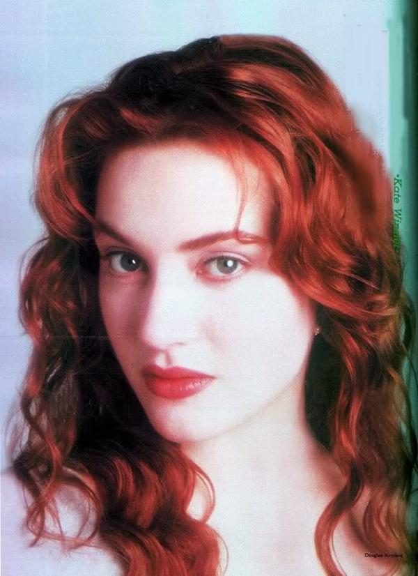 "Je suis Amoureuse de la Chevelure de Kate Winslet période ""Titanic"" !!!"
