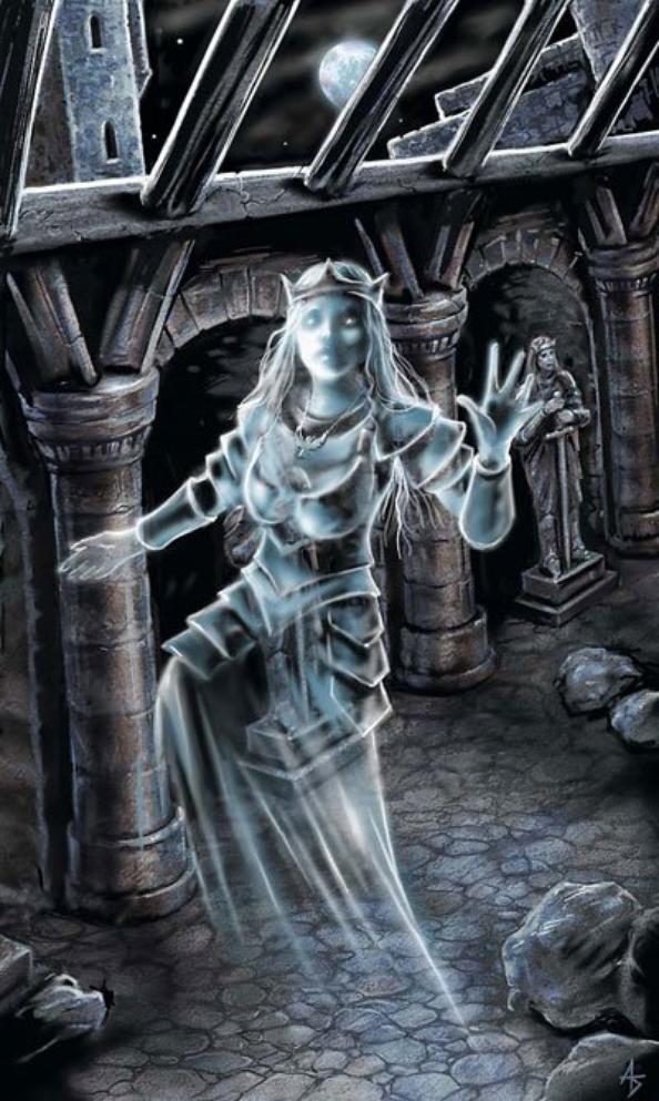 La Reine Hante les Couloirs de Son Château