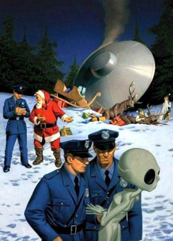 Je sens que le Papa Noël a Pris du retard...