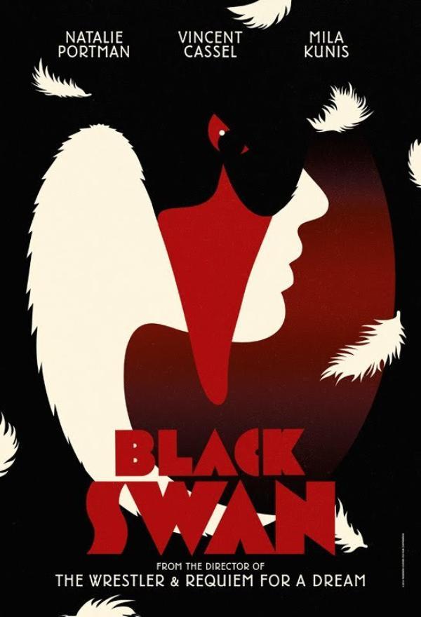 """Quelques Magnifiques Affiches de """"Black Swan"""" !"""