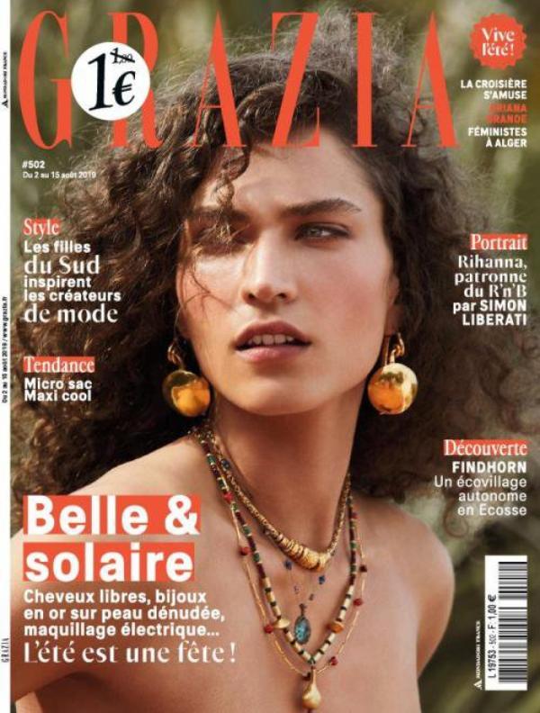 """De  récentes Couvertures de Magazines qui m'ont Tapées dans l'½il ! Je vous conseille de lire """"Grazia"""", une super  Revue  !"""