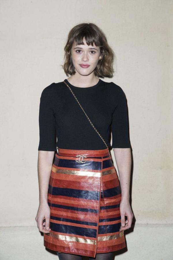 Une Belle Jupe, portée par Mathilde Warnier  !