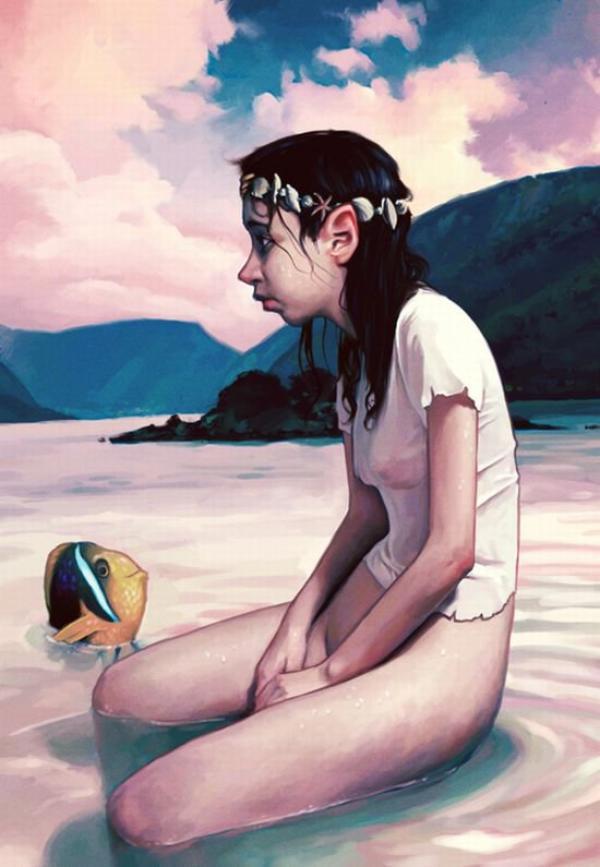 """Jeanne Cherhal : """"Je suis liquide"""", (2006)"""