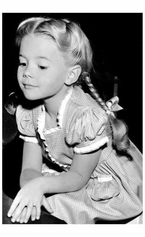 Natalie Wood à l'âge tendre