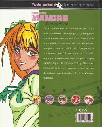 Dessine les mangas - Fantasy World