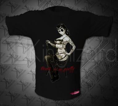 Darken pin-up, des desins, des t-shirts, etc...