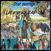 """Montage Star montage7 """"les animaux d'afrique"""""""