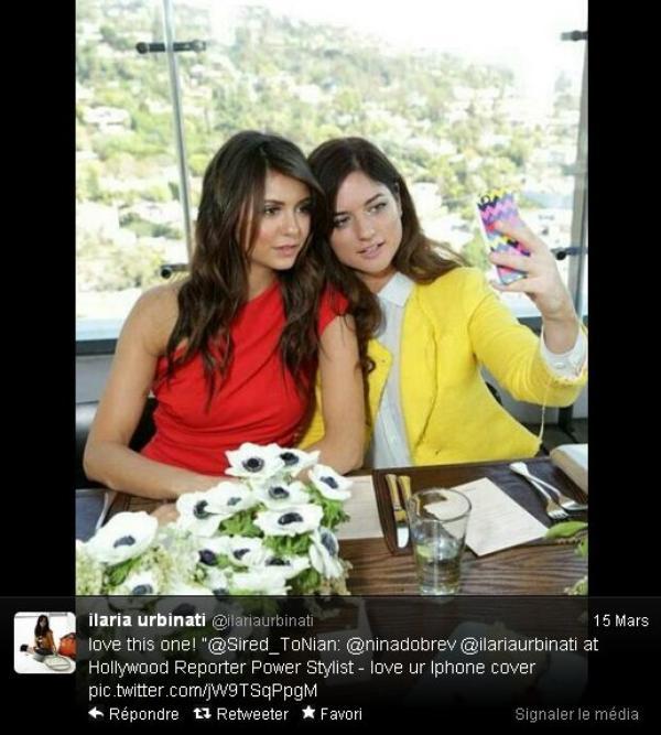 """13/03/2013 Nina était à la célébration """"Most Powerful Stylists Luncheon"""" un déjeuner pour les grands stylistes d'Hollywood (25 des plus influents) organisée par The Hollywood Reporter & Jimmy Choo à New York"""