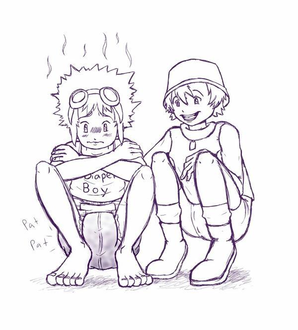 digimon diaper