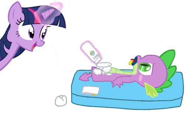 Spike diaper