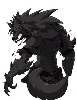 Half Human Half Wolf Male Le grand mécha...
