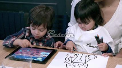 Une souscription à l'application éducative Badabim comme cadeau d'anniversaire