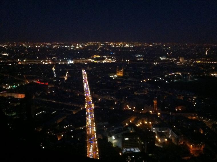 Paris la nuit !