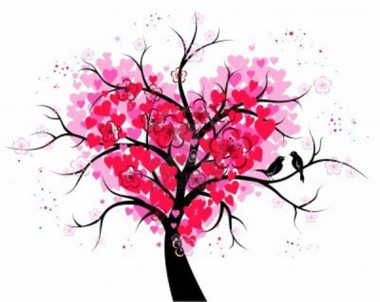 No l un jour l 39 amour tous les jours poussi res d 39 toiles - Dessin de coeur amoureux ...