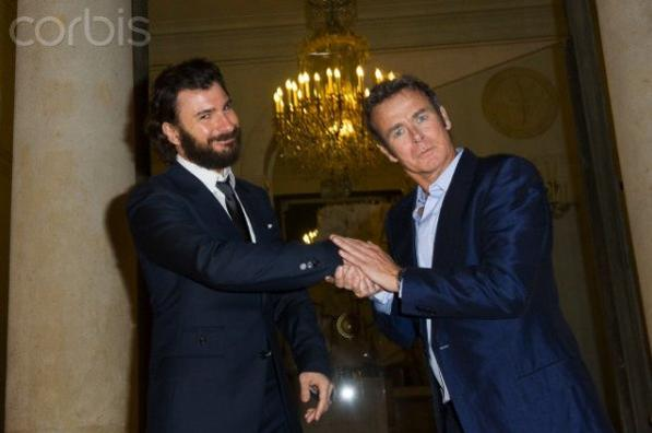 Franck a l'Elysée le 14 mars 2012