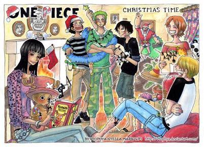 Joyeux Noel & Bon anniverssaire Chopper ♥