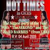 """The Sekond"" from Sénégal  and The ""Hard Barbies"" from New York IN a HOT TIMES IN CICES"