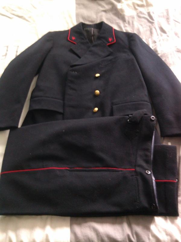 uniforme de facteur
