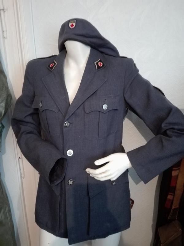 veste de la croix rouge française