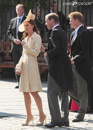 Kate et William au mariage de Zara Philips