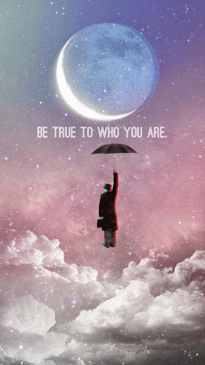 Be yourself, everybody else is already taken