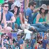18 avril - Vanessa & Zac étaient au Festival de musique COACHELLA.