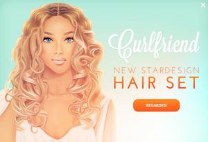 New Stardesign Hair *0* Curlfriend