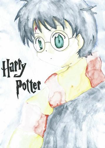 DESSIN Aquarelle Harry Potter - Au Coeur du Département ...