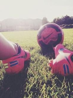 I'm a soccer girl, dude